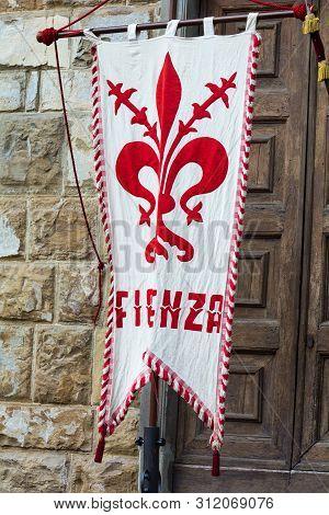 Traditional Florentine  Flag