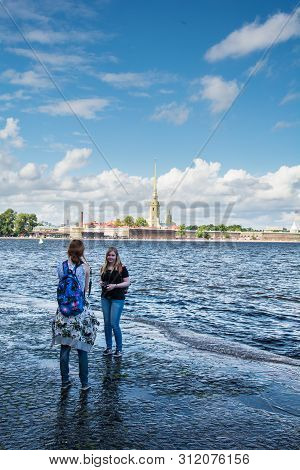 Neva Embankment, St. Petersburg, Russia
