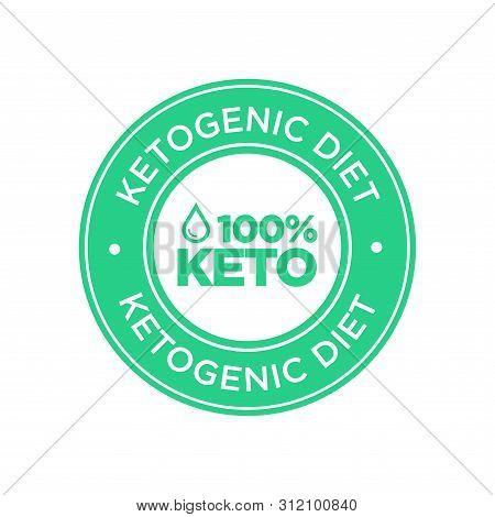Keto Diet Icon. Symbol For Ketogenic Diets.
