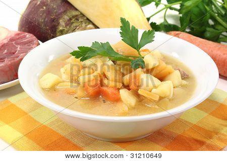 Fresh Swede Stew