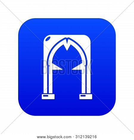 Archway Villain Icon. Simple Illustration Of Archway Villain Vector Icon For Web