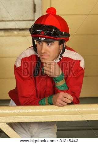 Thoroughbred Jockey Joseph Talamo