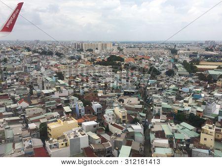 Aerial View Of Saigon, Vietnam