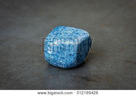 Blue Sponge Coral Stone Gem Amazing Texture Different Blue Tones