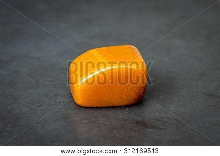 Chinese Jade Gemstone Luxury Good Yellow Orange And Brown Tones