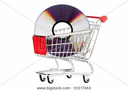 Shopping Cart With Dvd