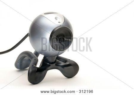 Webcam Over White