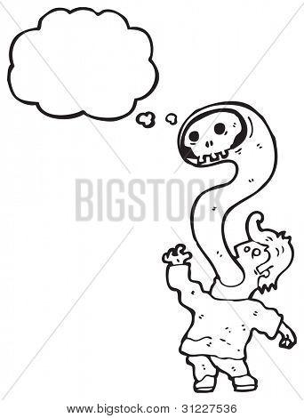 cartoon exorcism