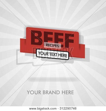 Beef Recipes For Beef Barbecue. American Beef. Beef Traditional Grilling Recipes. Can Be For Promoti