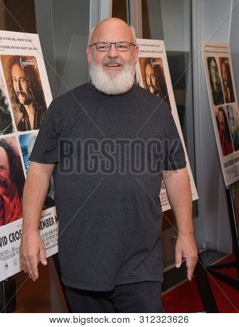 LOS ANGELES - JUL 18:  Kyle Gass arrives for the 'David Crosby: Remember My Name' Los Angeles Premiere on July 18, 2019 in Hollywood, CA
