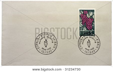 Cypriot Stamp