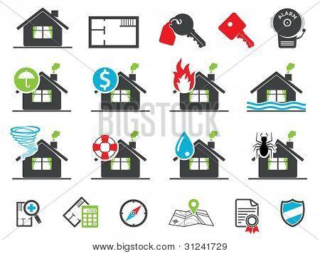 Estate icons