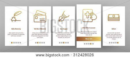 Judgement, Court Process Onboarding Mobile App Page Screen. Judgement, Trial Procedure Linear. Legal