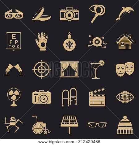 Specs Icons Set. Simple Set Of 25 Specs Icons For Web For Any Design