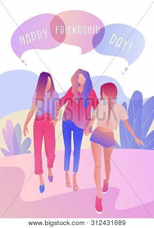 Happy Friendship Day Vector Photo Free Trial Bigstock
