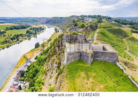 Fortress Of Charlemont Protects Givet Town On The Belgian Border And Dominates Meuse River As It Ben