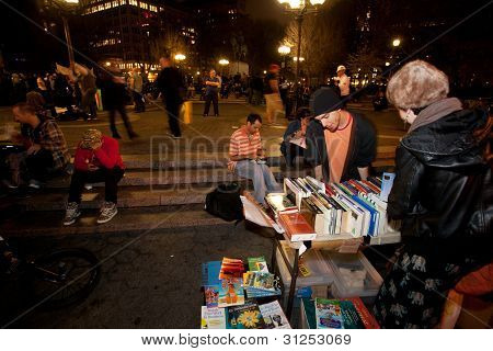 Occupy Wall Street's Library