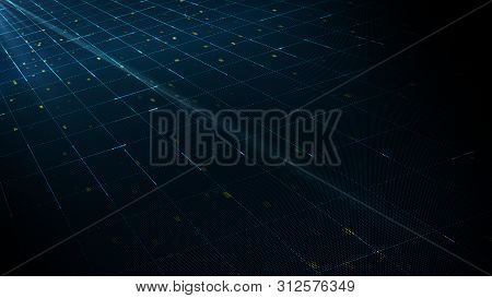 Abstract Digital Technology Background Concept.