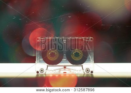 Audio Cassette Music Background Wallpaper Background Cover 70s 80s 90s Top Effect Retro Old Vintage