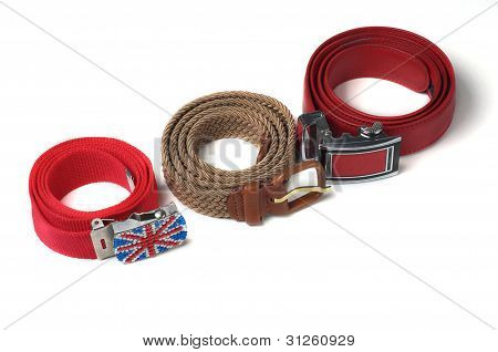 Three Colorful Belts.