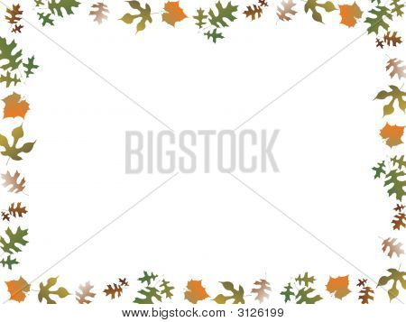 Autumn Leaves Boarder