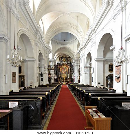The Dreifaltigkeitskirche Or Church Of The Holy Trinity