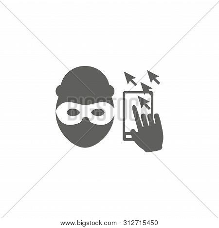 Website Clicks Icon ; Pointer Icon - Unscrupulously Acquiring Website Clicks
