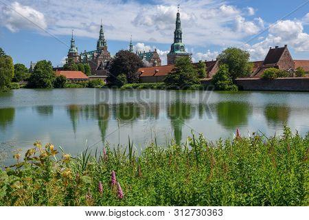 The Castle Of Frederiksborg At Hillerod, Denmark
