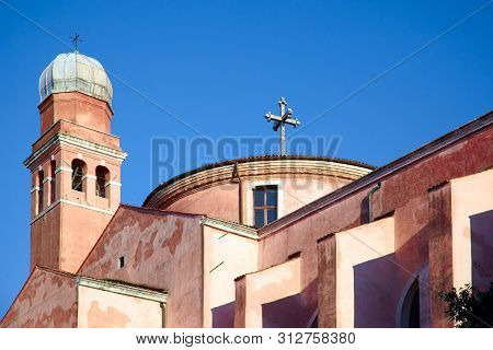 Chiesa Di San Nicolò Da Tolentino - So Cold Tolentini Church In Venice, Italy Dedicated To Saint Nic