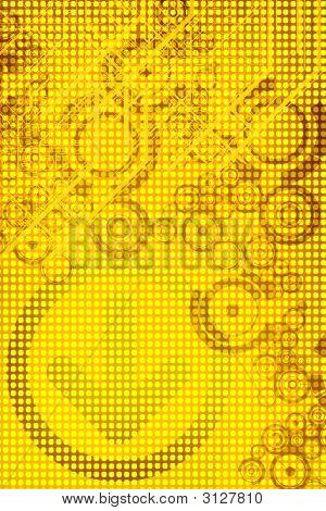 Yellow Tech Background