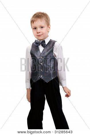 Boy In The Bow Tie In The Studio