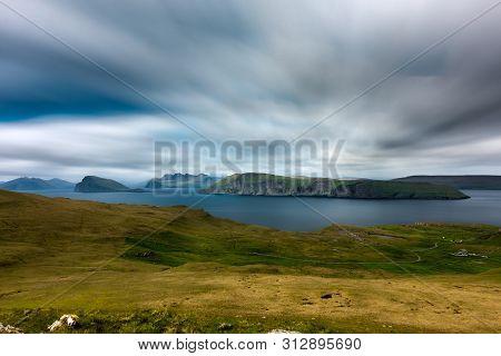 Spectacular Long Exposure View Of Feroe Islands