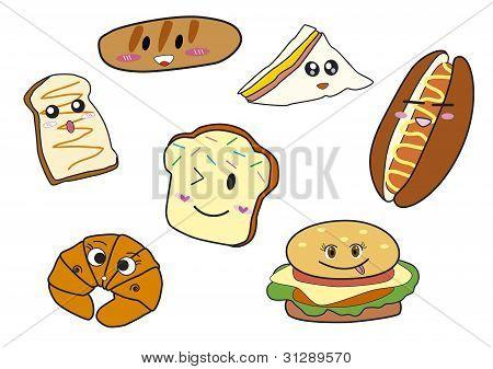 Bakery cartoon