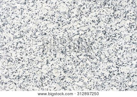 Gray stone wall texture close-up