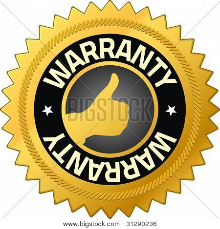 Warranty Guarantee Badges
