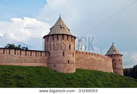 The Kremlin (Detinets-stronghold). Great (Veliky) Novgorod