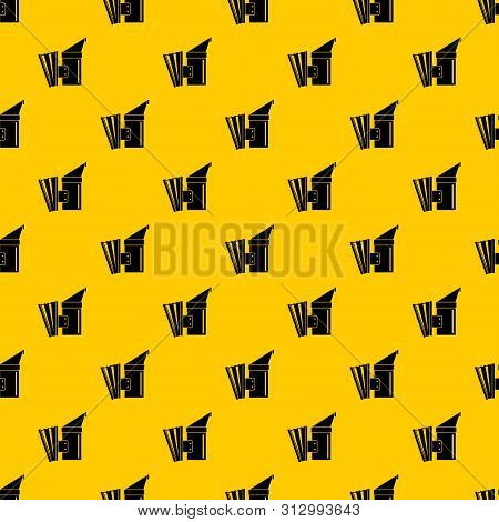 Fumigation Pattern Seamless Vector Repeat Geometric Yellow For Any Design