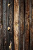 A beautiful wooden fence texture close up poster