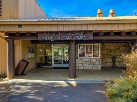Walnut Canyon National Monument Visitor Center In Flagstaff Arizona - November 4, 2018