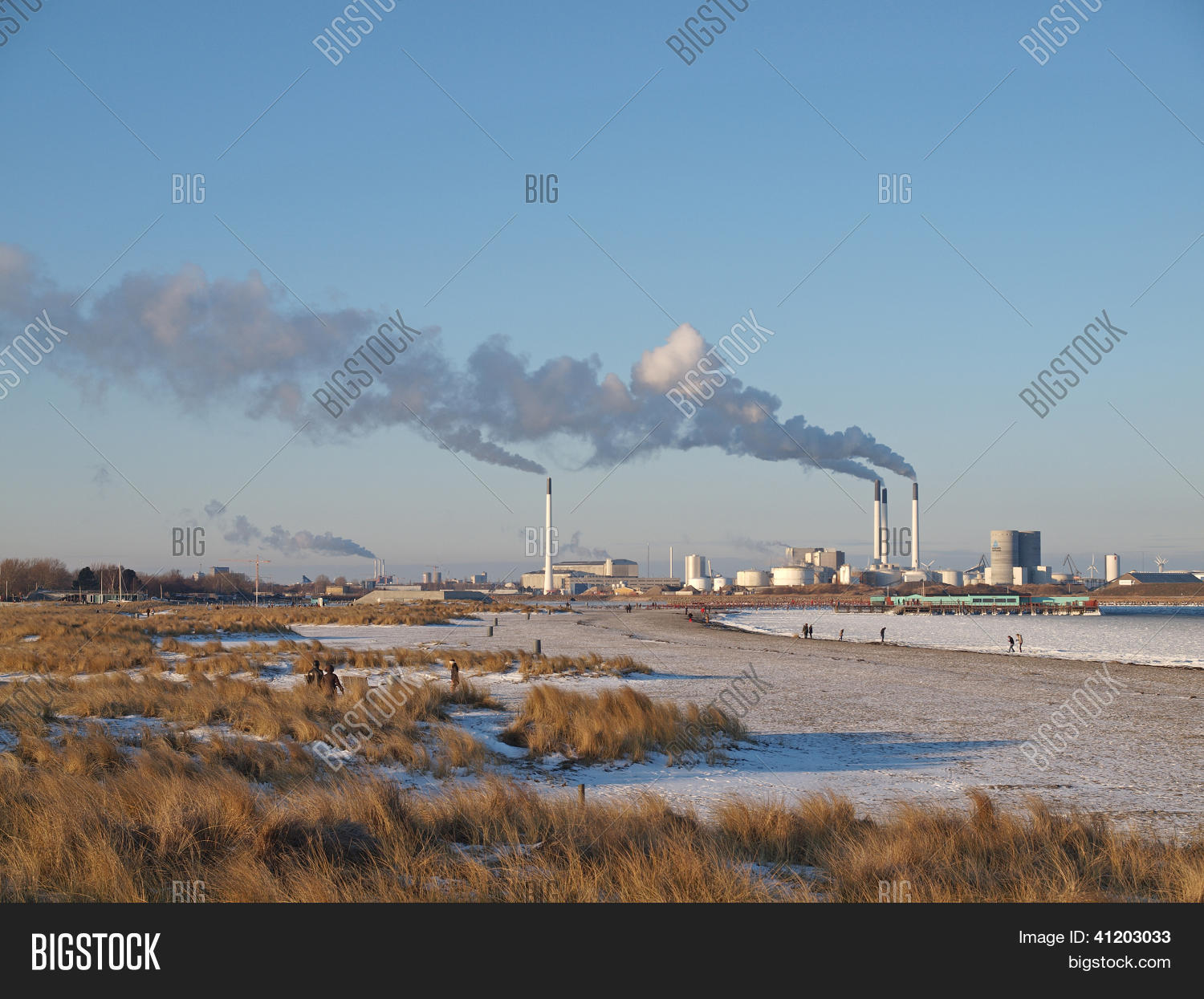 Amager Beach Park amager power station image & photo (free trial) | bigstock