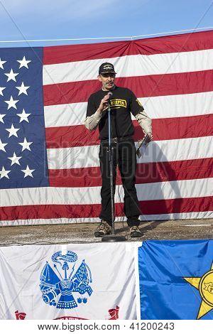 Host Of 2nd Amendment Rally.