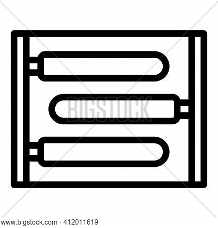 Medical Uv Lamp Icon. Outline Medical Uv Lamp Vector Icon For Web Design Isolated On White Backgroun