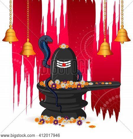 Lord Shiva On Maha Shivratri Religious Festival Of India
