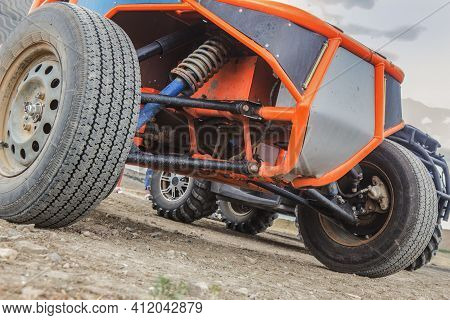 Buggy Car Off-road Close-up Detail Stock Photography.