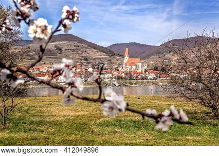 Weissenkirchen Village During Spring Time In Wachau, Austria