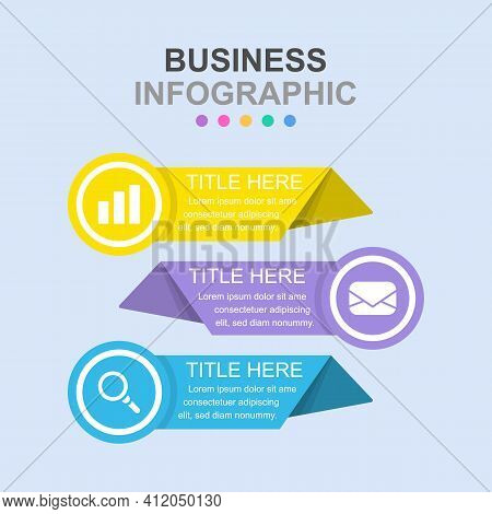 Infographic Business Concept Vector Illustration. Creative Infographic Layout. Infograph Vector Conc