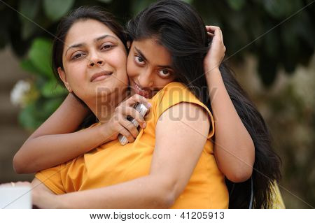 Loving Mother With Daughter