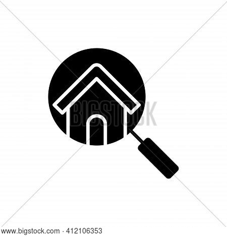 Home Search Logo icon vector illustration. Home. Home Logo. Real estate logo. Property logo. House Logo. Home vector, Home Logo vector, Home symbol, Home sign, Home Logo design. House Logo icon vector. Home icon isolated on white background