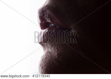Lips Augmentation. Beauty Lip. Lips Makeup Cosmetic Products