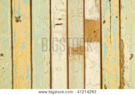 closeup of old wood planks texture background poster